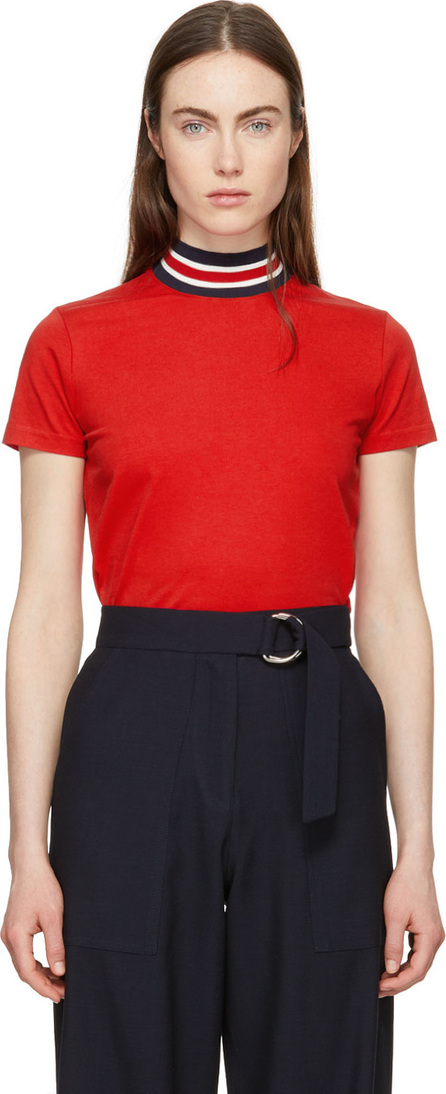 Harmony Red Tiphaine High Neck T-Shirt
