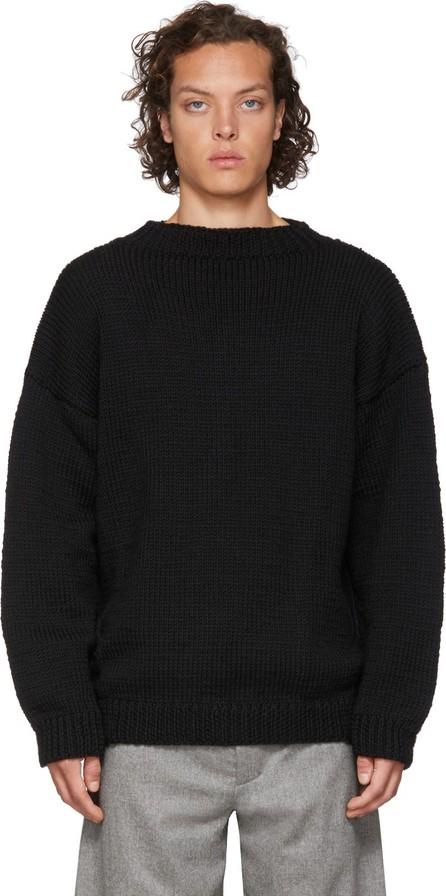 Toogood Black Merino Wool 'The Sculptor' Sweater