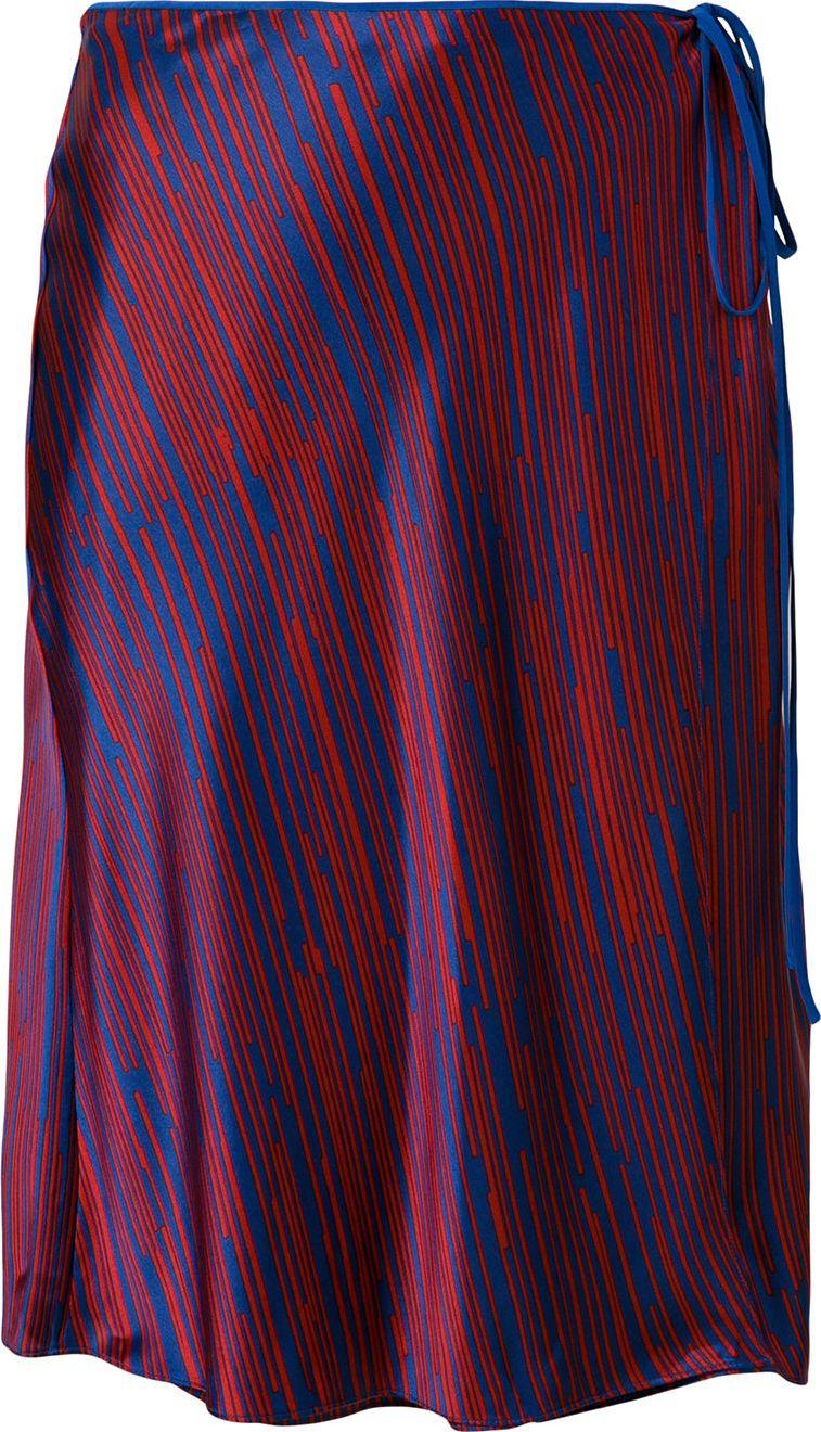 DIANE von FURSTENBERG - side tie A-line skirt