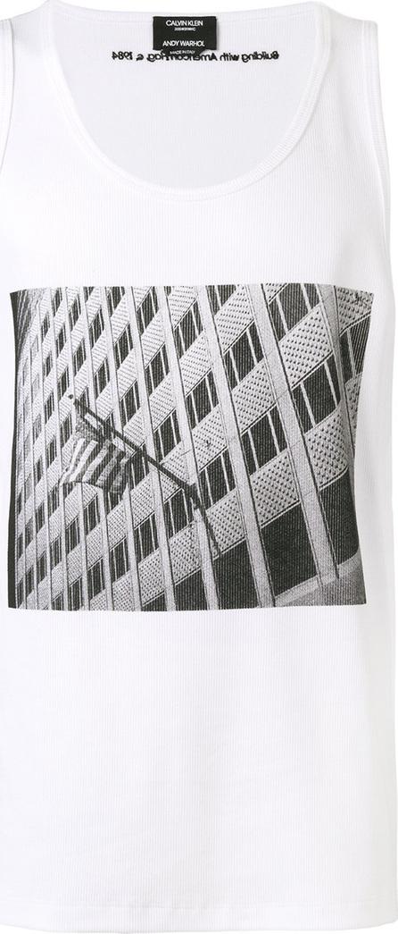 Calvin Klein 205W39NYC Photo print tank top