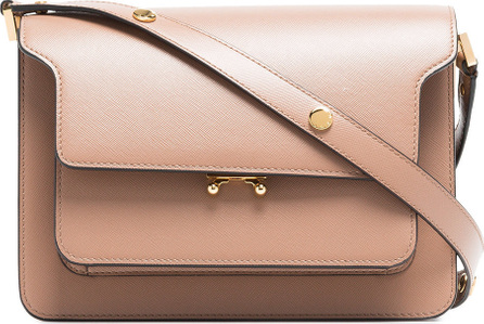 Marni Nude Trunk leather shoulder bag