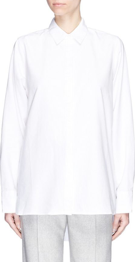 Georgia Alice 'GA Man' high-low Oxford shirt