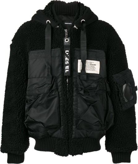 Alyx Faux-shearling hooded jacket