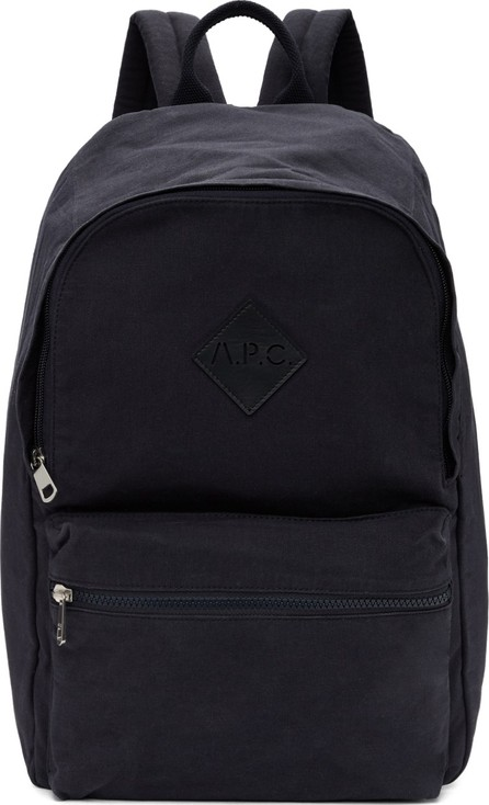 A.P.C. Navy Sadie Backpack