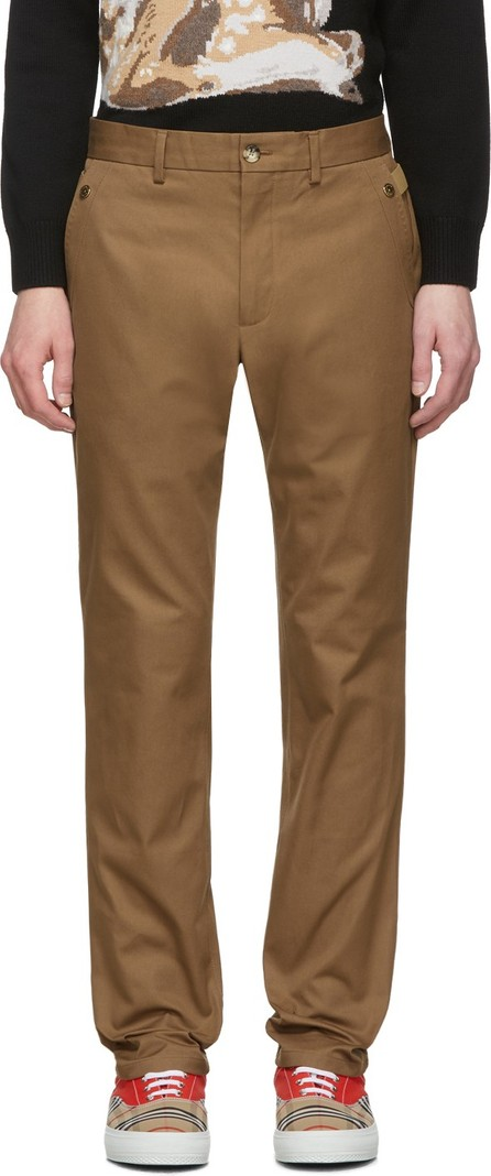 Burberry London England Brown Classic Trousers