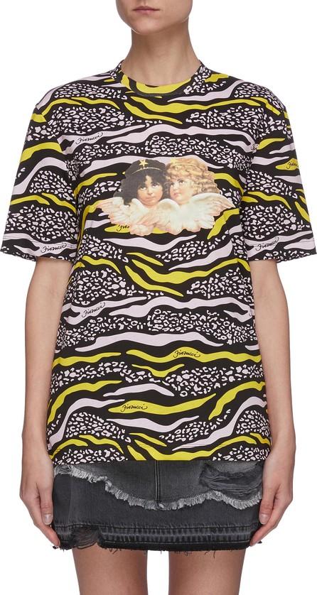 Fiorucci Vintage angels wildlife print T-shirt