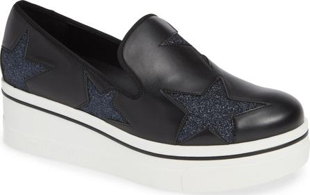 Stella McCartney Binx Stars Slip-On Platform Sneaker