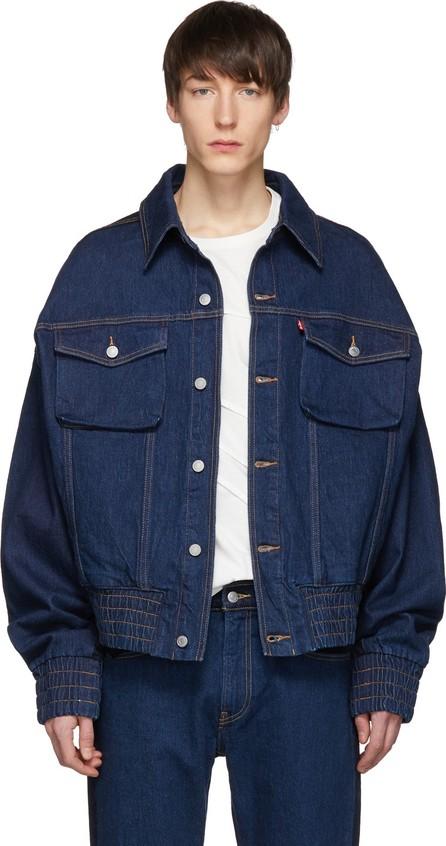 Feng Chen Wang Indigo Levi's Edition Contrast Denim Jacket