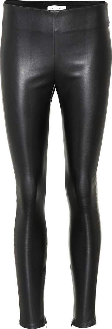 Velvet By Graham & Spencer Berdine faux leather leggings