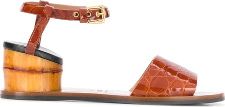Marni Bamboo effect heel sandals