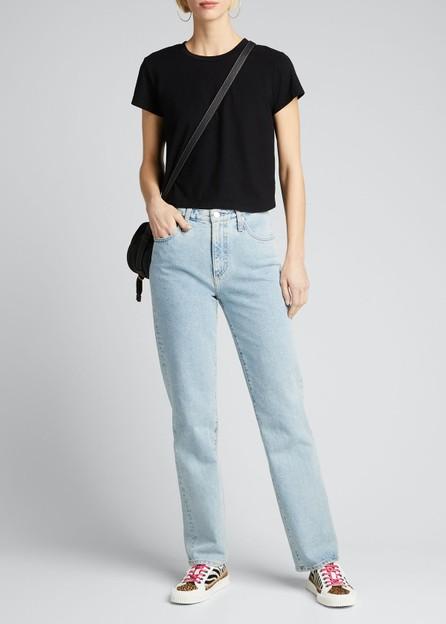 AG Jeans Alexxis Straight-Leg Jeans