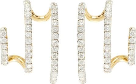 Ana Khouri Penelope diamond & 18kt gold earrings