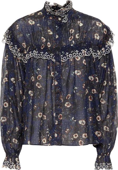 Isabel Marant Etoile Printed cotton blouse