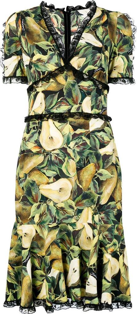 Dolce & Gabbana Pear print dress
