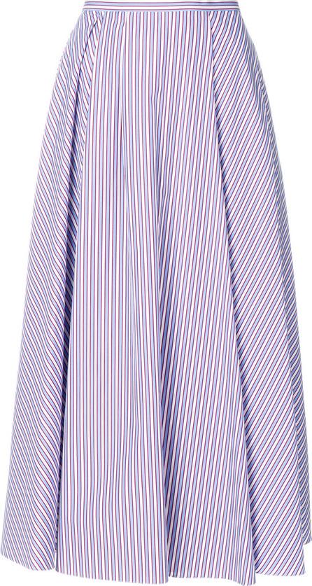 ROCHAS Striped a-line skirt