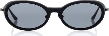 Self Portrait Ansley oval sunglasses