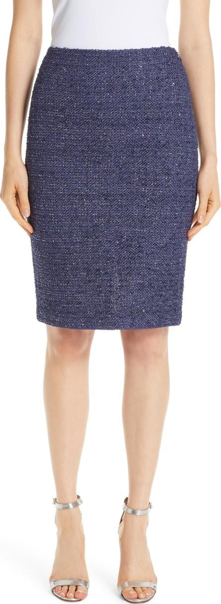 St. John Starlight Knit Pencil Skirt