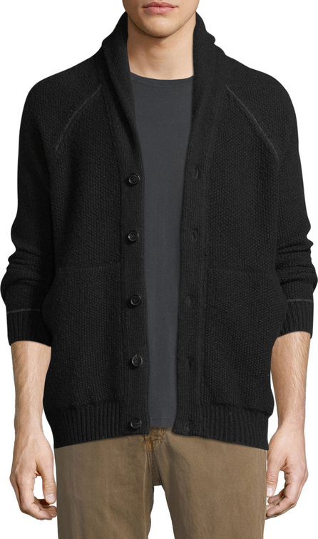 Billy Reid Seed Stitch Wool-Blend Cardigan
