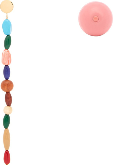 Jacquemus La Perle multi stones and stud earrings