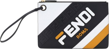 Fendi Fendi Mania Medium Flat Clutch Bag