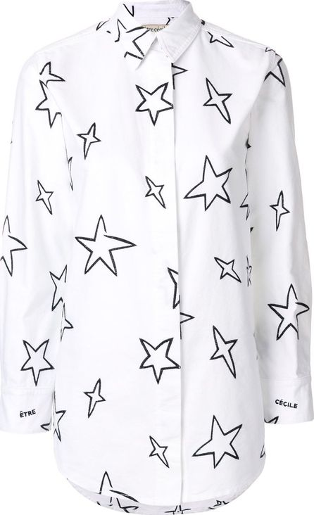 Etre Cecile printed star shirt