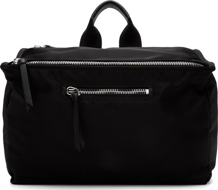 Givenchy Black Twill Pandora Messenger Bag