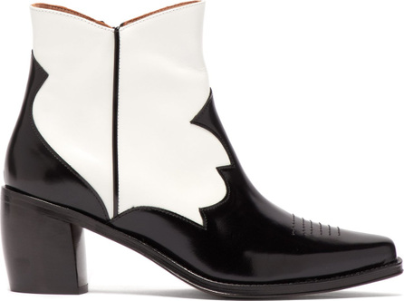 Alexachung Western-style leather ankle boots