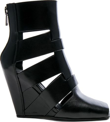 Rick Owens Leather Lazarus Wedges