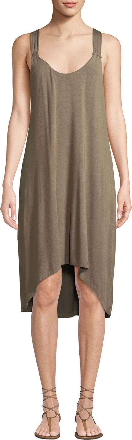 HEIDI KLEIN Lamu Twist-Back Tank Dress