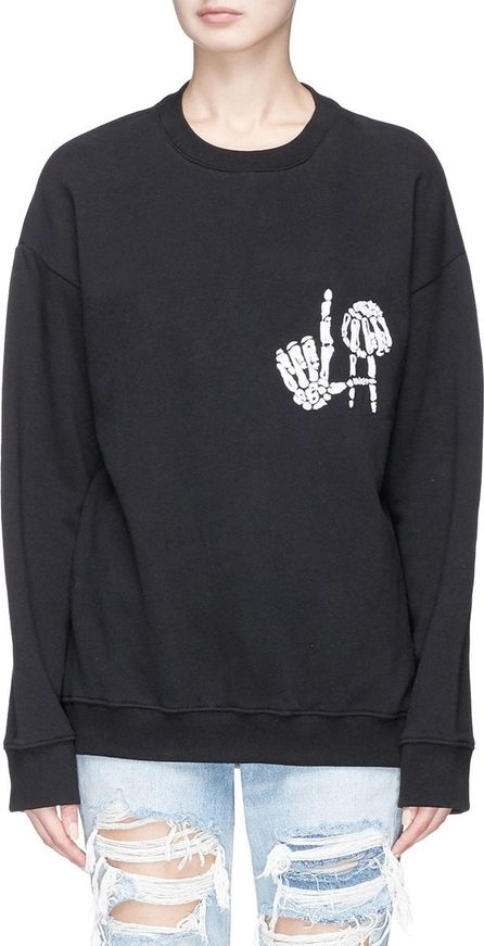 Adaptation Skeleton embroidered sweatshirt