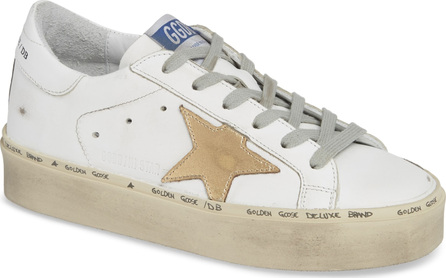Golden Goose Deluxe Brand Metallic Star Low Top Sneaker