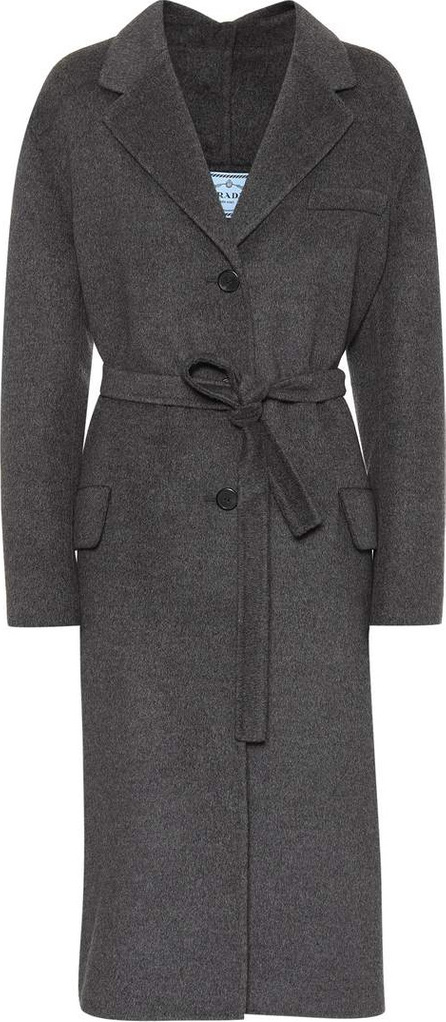 Prada Wool, angora and cashgora coat
