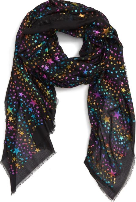 Stella McCartney Rainbow Foil Star Modal & Silk Scarf