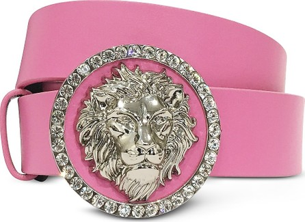 Versus Versace Crystal Lion Buckle Women's Belt