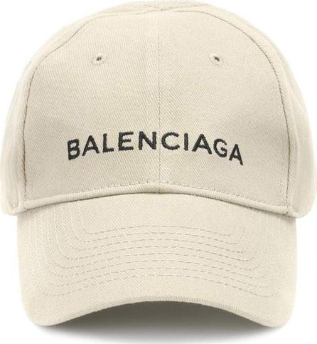 Balenciaga Embroidered cotton baseball cap