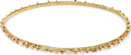 Rosantica Argo crystal-embellished gold-tone headband