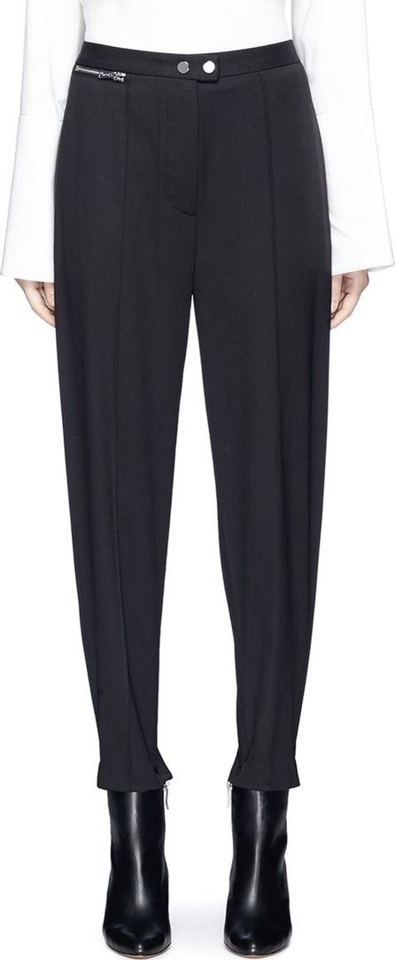 3.1 Phillip Lim Virgin wool gabardine stirrup pants