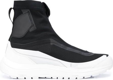 11 By Boris Bidjan Saberi High-top zipped platform sneakers