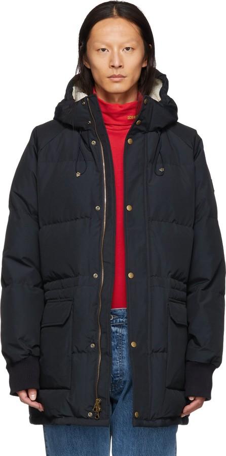 Aimé Leon Dore Black Down Hooded Jacket