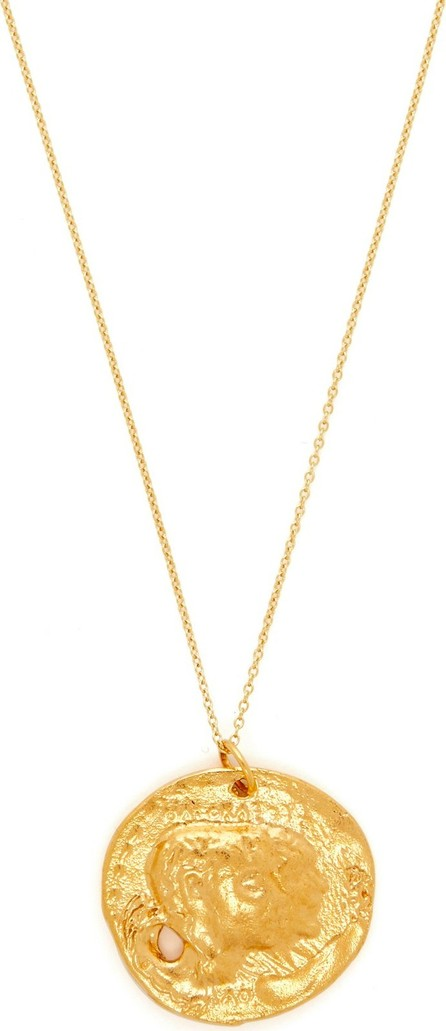 Alighieri The Other Side of the World gold-plated necklace
