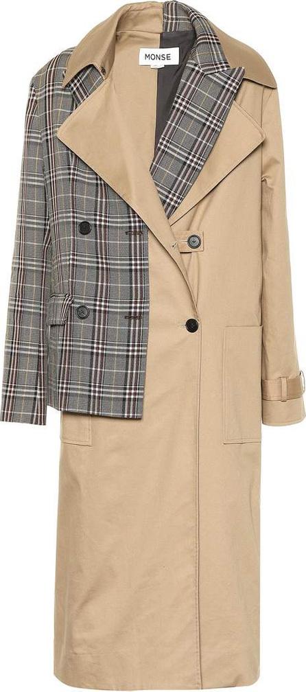 Monse Cotton-blend trench coat