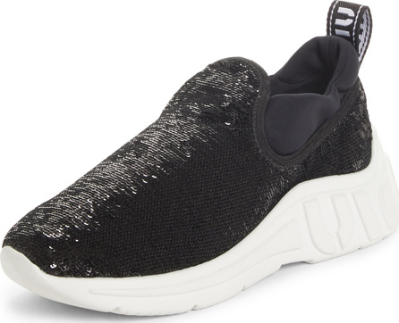 Miu Miu Sequin Slip-On Sneaker