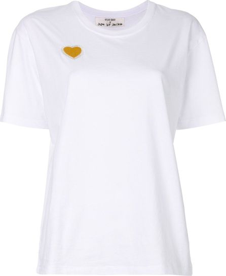 Closed heart stitch classic T-shirt