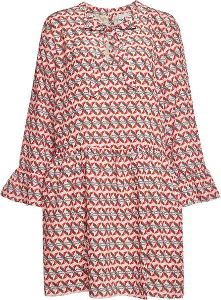 Aybi Dany Printed Silk Dress