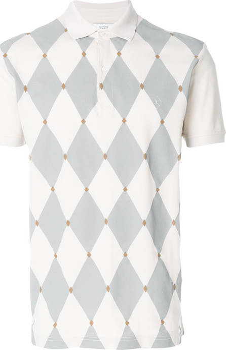 Ballantyne Diamond knit polo shirt