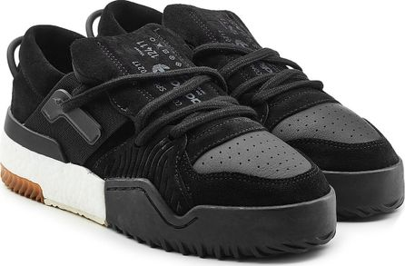 Adidas Originals by Alexander Wang BBall Low Top Sneakers with Leather and Suede