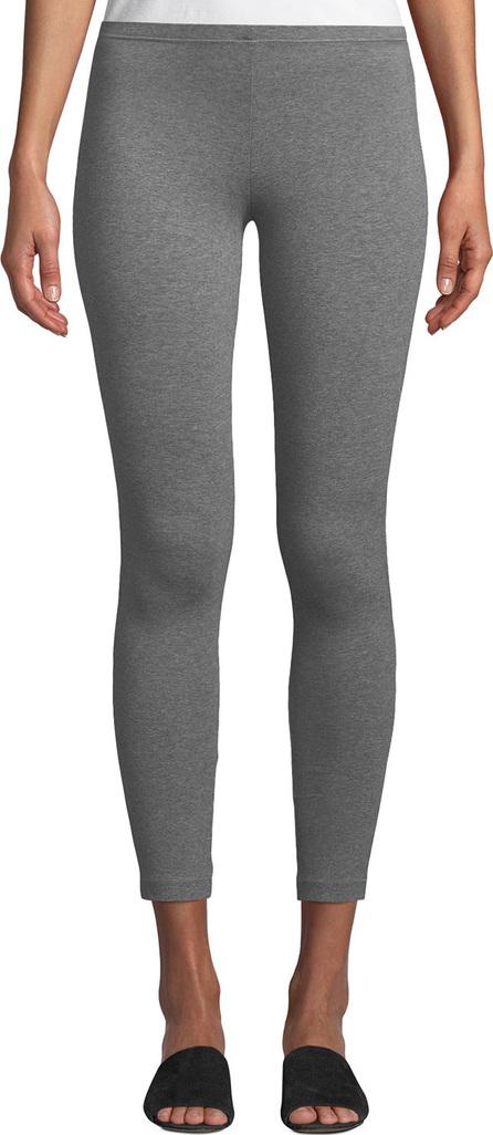 Eileen Fisher Heathered Organic Cotton Jersey Leggings
