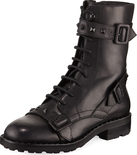 ASH Witch Studded Leather Boot