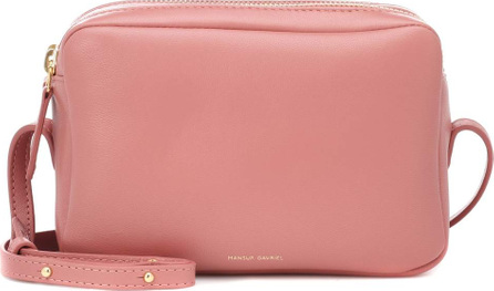 Mansur Gavriel Double Zip leather crossbody bag