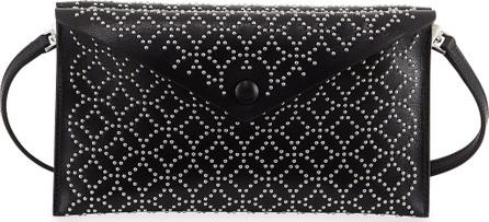 Alaïa Studded Dual-Flap Crossbody Bag